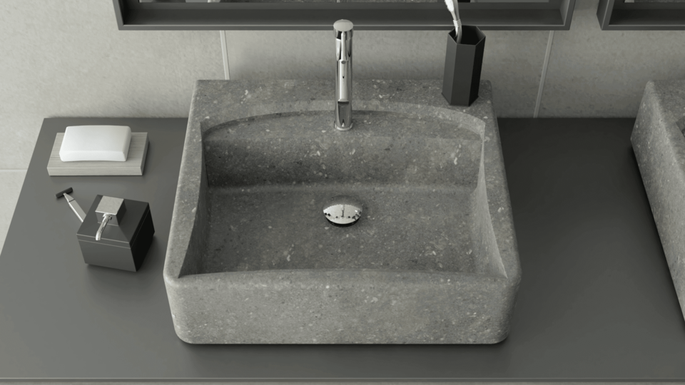 Créez Votre Vasque De Salle De Bain En Pierre Naturelle