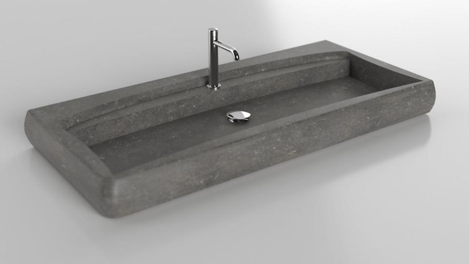 Créez votre vasque de salle de bain en pierre naturelle ...